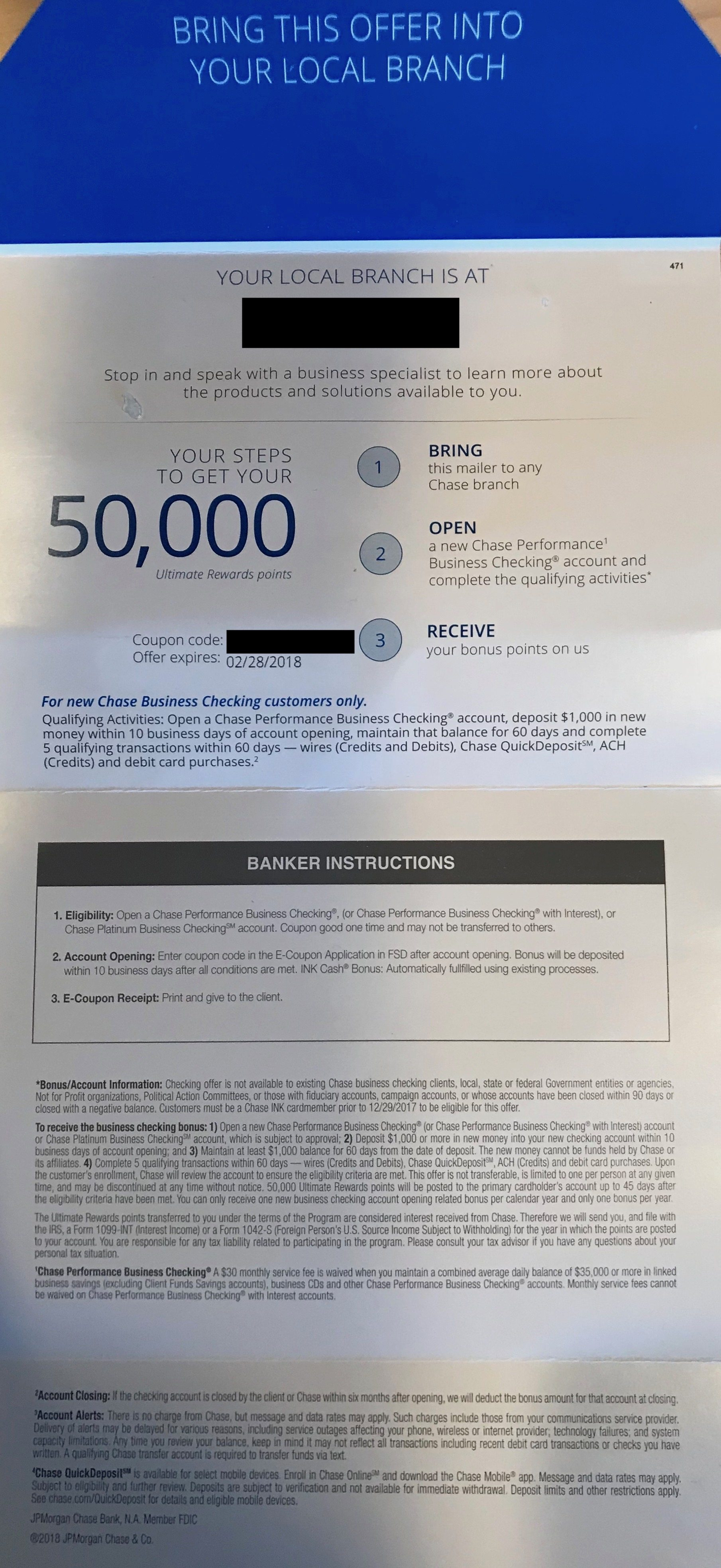 Expired] Chase Targeting some INK Cardholders with 30,000-50,000 ...