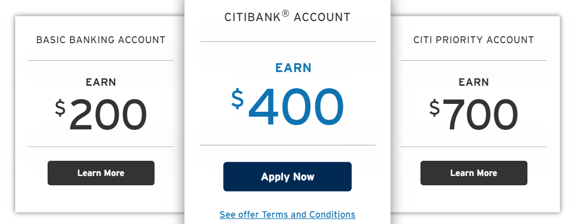 citibank saving account balance check