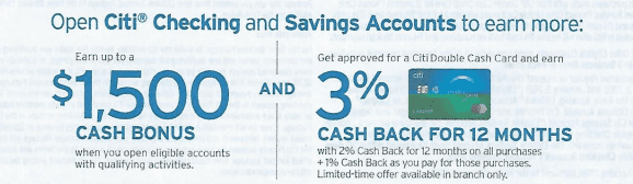 Targeted] Citi Bundle Deal: Earn 3% Cash Back On Citi Doublecash/TYP  Earning Cards When You Open Citi Priority Banking - Doctor Of Credit